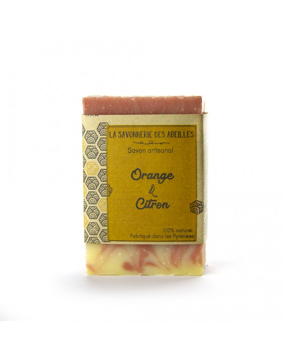 SAVON ORANGE CITRON