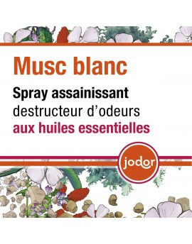 Parfum d'ambiance Jodor Musc blanc