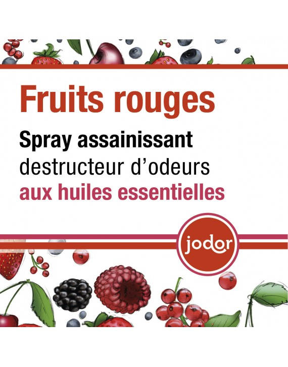 Parfum d'ambiance Jodor Fruits rouges